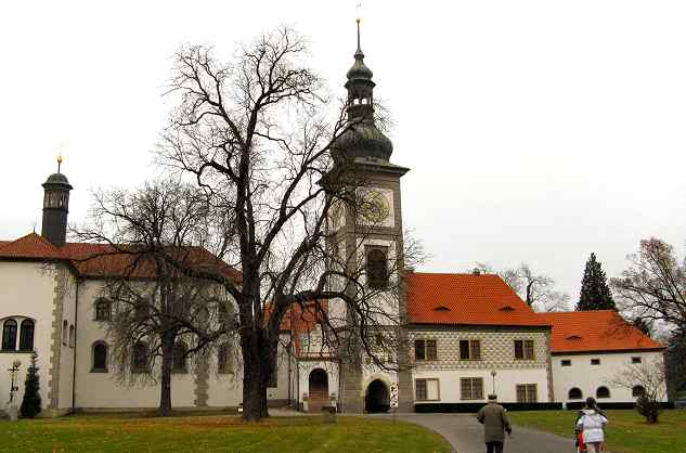 The Church of St Jakub in Zbraslav, where my Grandfather was the Choir Master.